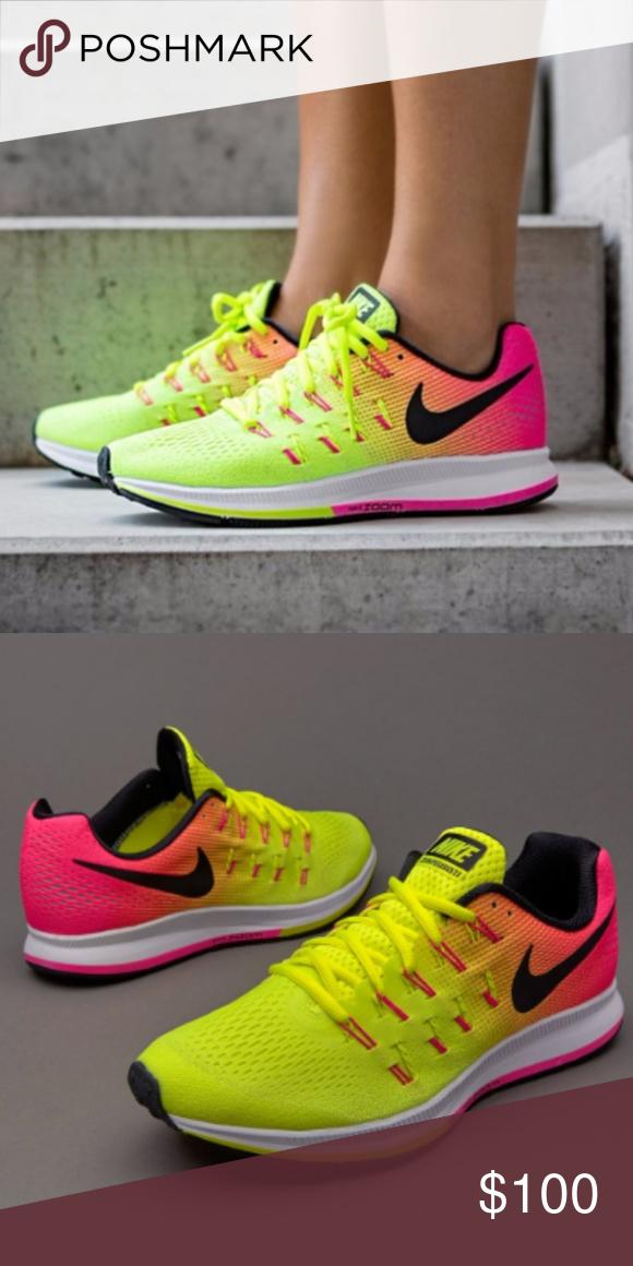 Nike Air Zoom Pegasus 33 OC Rio Volt Pink Women's NEW IN BOX