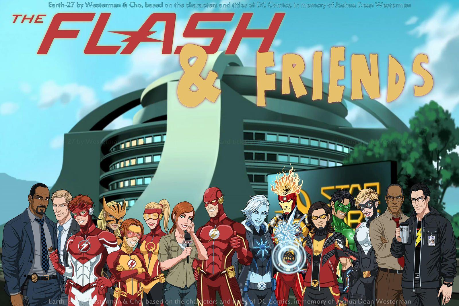 14+ Friends flash info