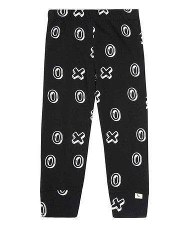 This Black Nought & Cross Organic Leggings - Infant & Toddler is perfect! #zulilyfinds