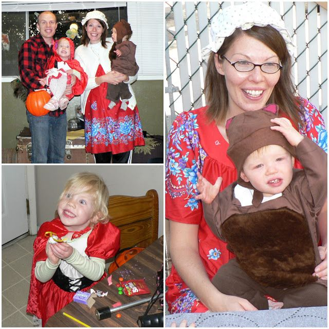 Family Little Red Riding Hood Costumes Halloween Costumes For