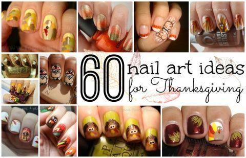 60 Easy Thanksgiving Nail Art Ideas - Nail manicure ideas, #Art #Easy #Ideas #Manicure #Nail #Thanksgiving #thanksgivingnailideas #thanksgivingnails, #BestPinterestPhotos #novembernails