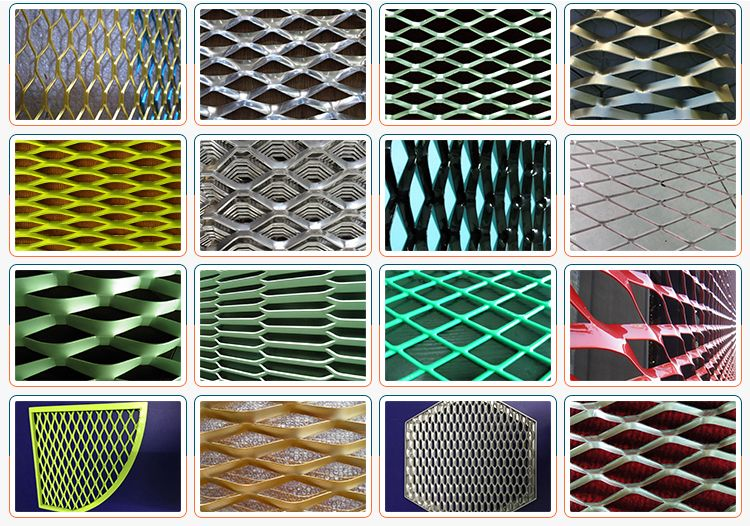 3mm Thick Aluminum Sheet Decorative Metal Mesh Wall Panels Expanded Metal Mesh Cladding Panels Expanded Metal Mesh Expanded Metal Metal Mesh