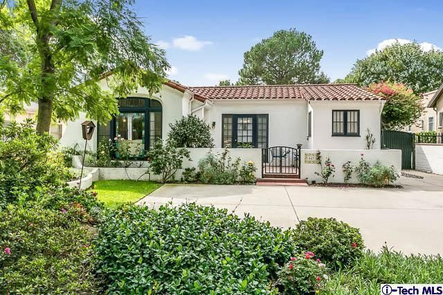 Spanish style bungalow in pasadena dream home for Spanish bungalow house plans