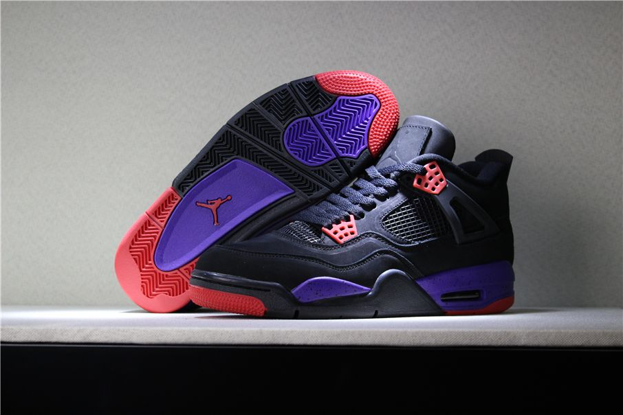 new concept fc2be a61bb ... france 2018 air jordan 4 nrg raptors black university red court purple  aq3816 dc76b b8232