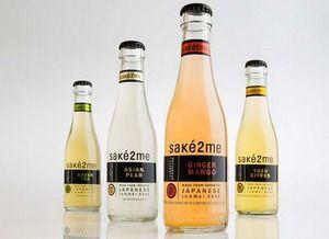 日本酒カクテル「sake2me」のボトル