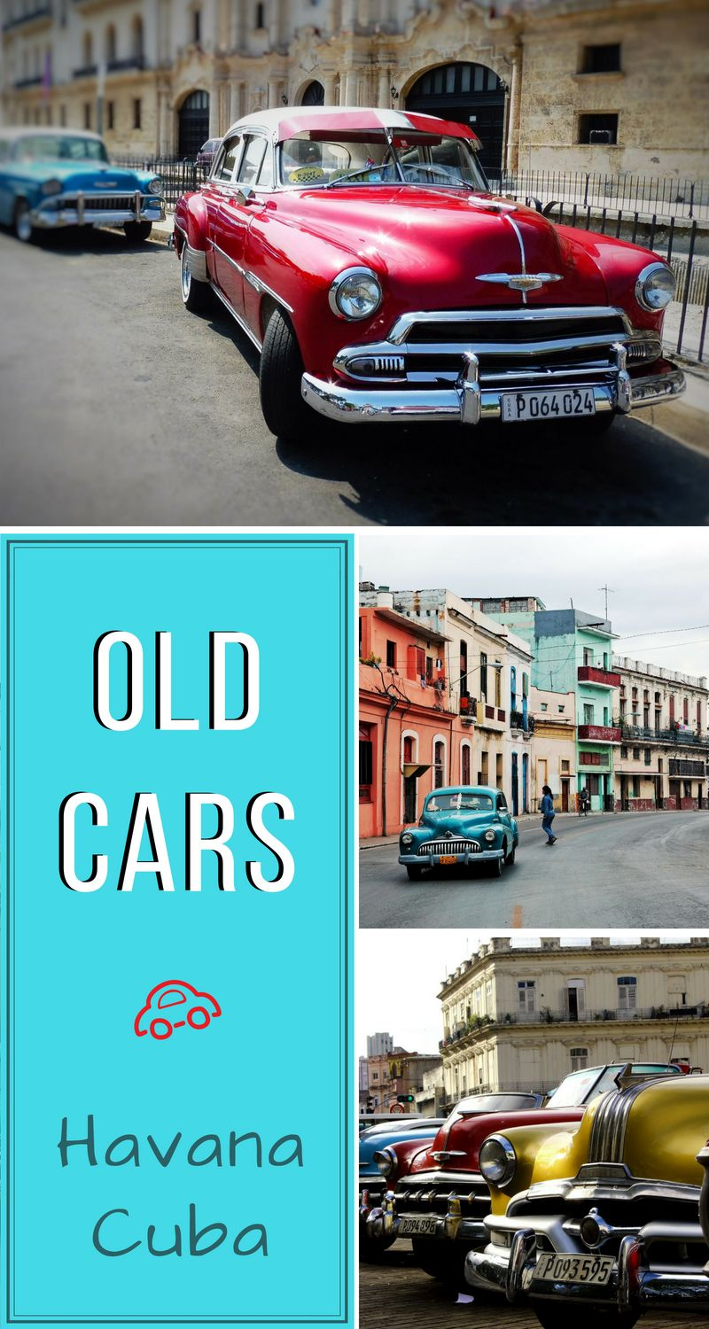 One of the must-dos in #HavanaCuba is taking a ride in an old car. The old-timers like these, being all operational and polished, can only be seen here and nowhere else in the world. Learn more about transportation in Cuba. #OldCarsCuba #Travel #TravelCuba #TravelCentralAmerica #CubaWhatToDo
