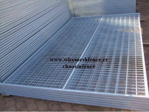 hot galvanized Temporary fence