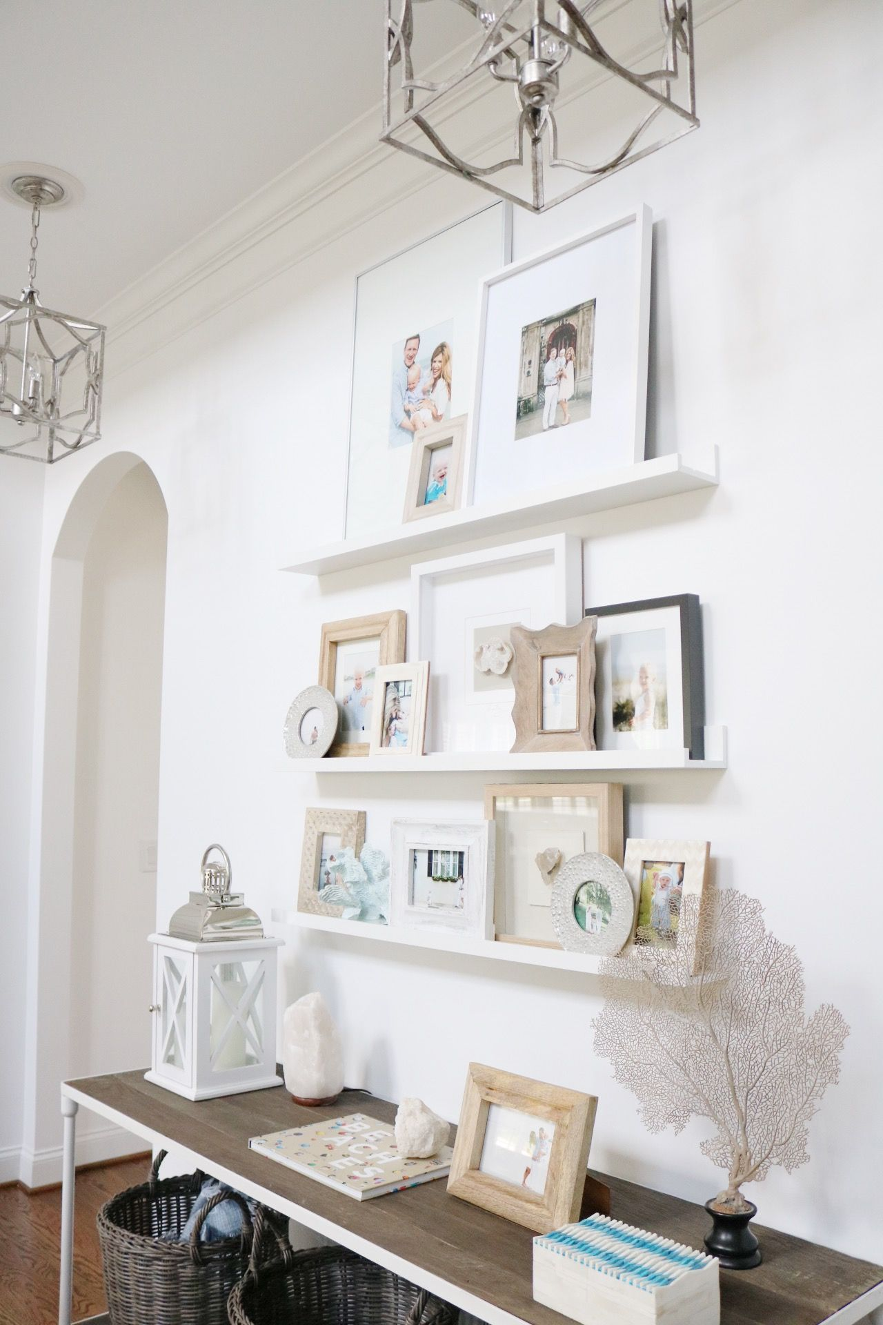 Gallery Wall Living Room Shelving Gallery Wall Shelves