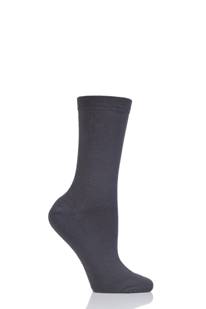 e41ad0e743185 Ladies 1 Pair Thought Jackie Plain Bamboo and Organic Cotton Socks ...