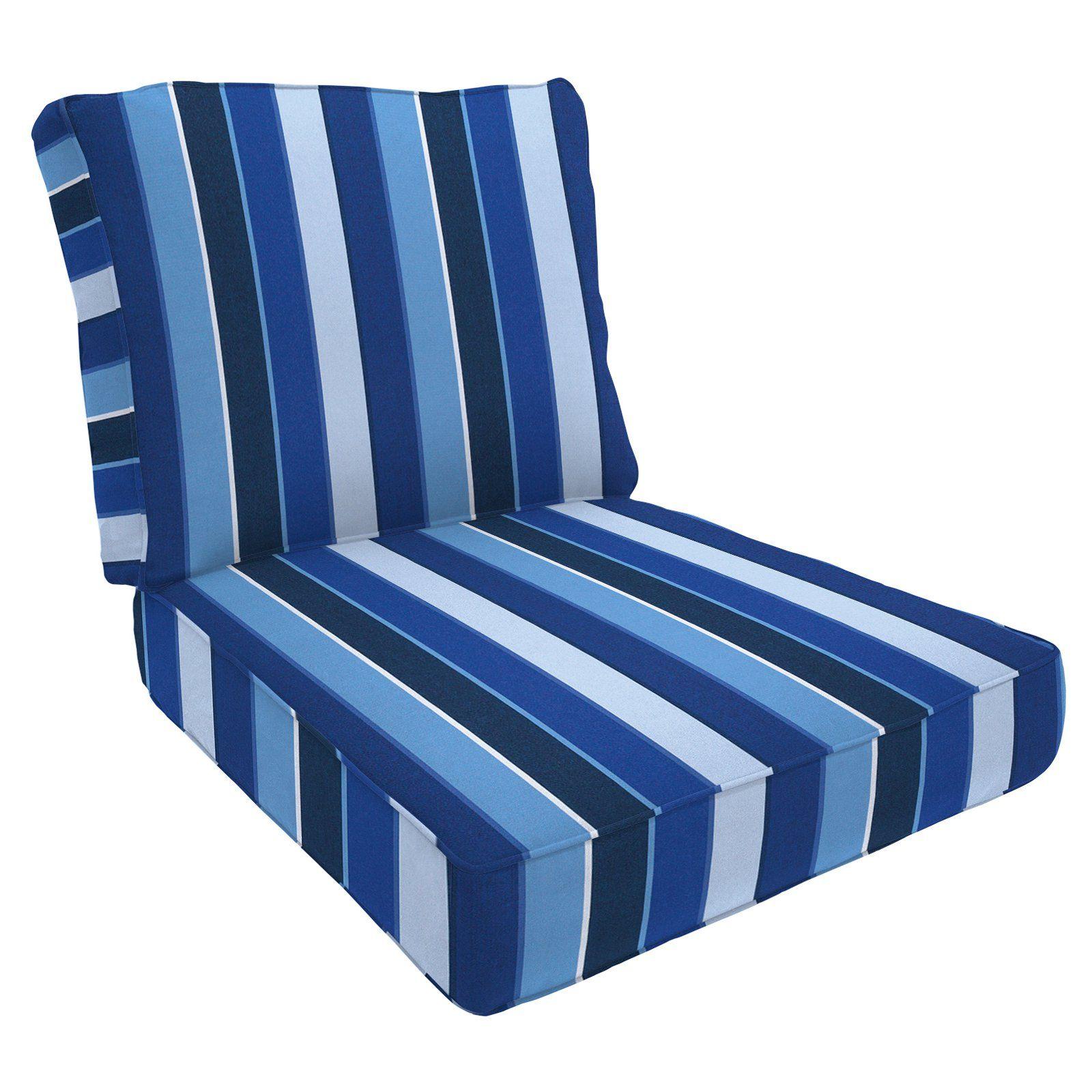 Eddie Bauer Sunbrella Deep Seating Lounge Chair Cushion