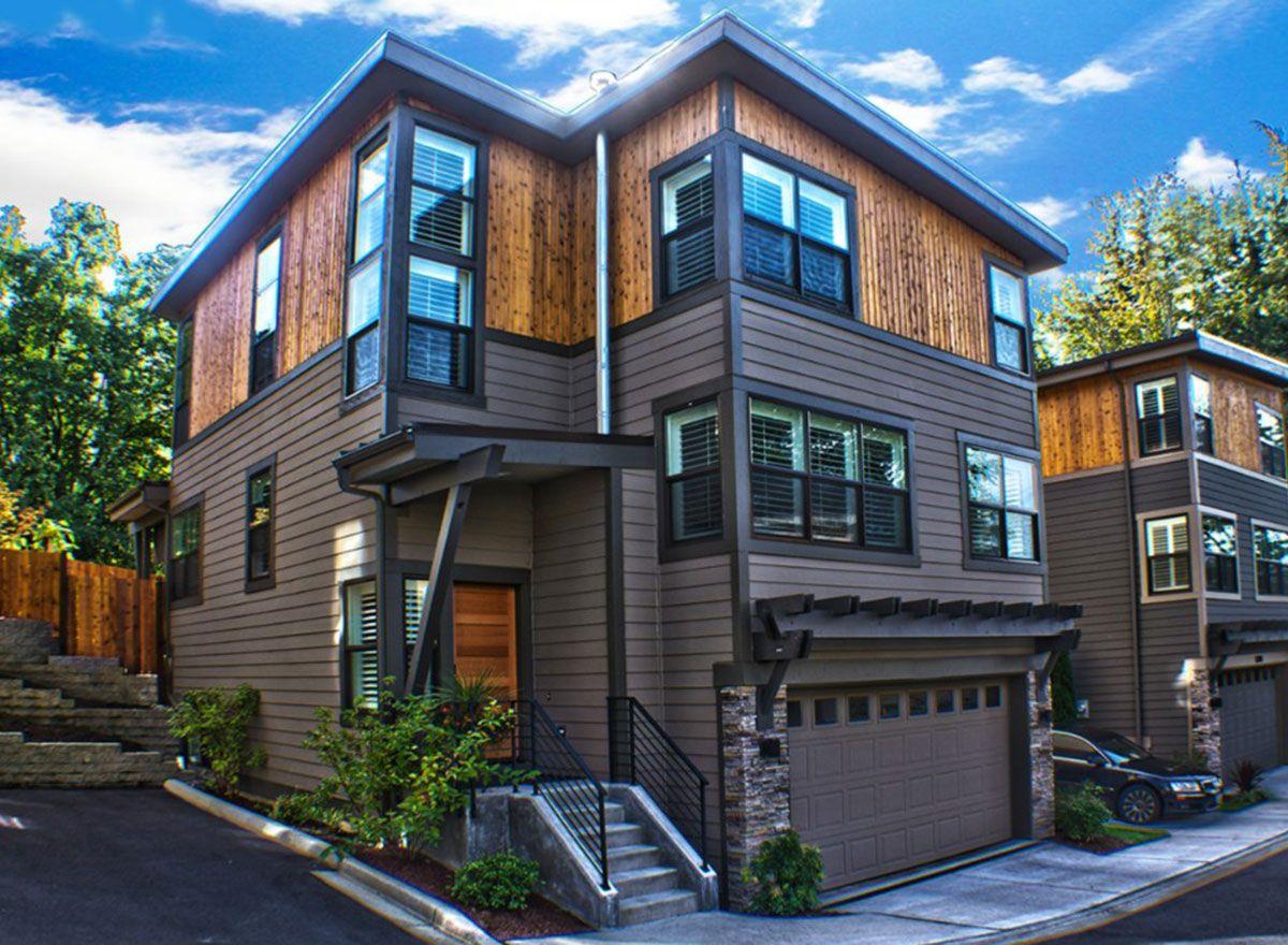 northwest home designs. Plan 23597JD  Three Level Northwest House Flat roof Pantry