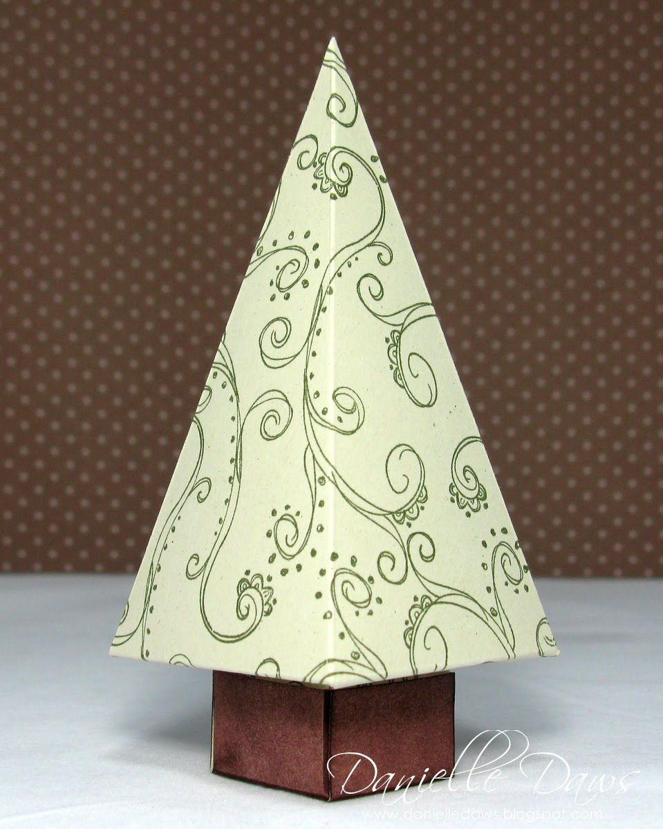 Danielle Daws Christmas Tree Box Tutorial Christmas Tree Box Christmas Tree Template Christmas Tree With Gifts