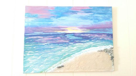 Check out this item in my Etsy shop https://www.etsy.com/listing/224418015/beach-sunset-3d-art-18x24-acrylic