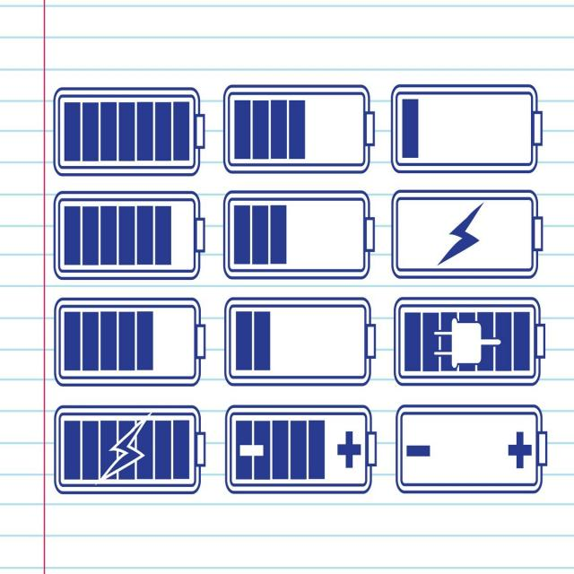 Blue Battery Charge Icon Battery Icons Blue Icons Accumulator Png And Vector With Transparent Background For Free Download Battery Icon Icon Free Vector Illustration