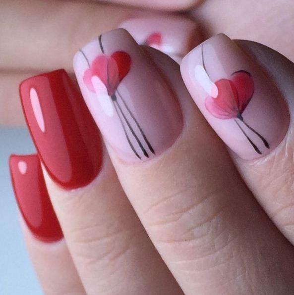 Art Simple Nail  Elegantes   Diseños de uñas   Pinterest   Diseños ...