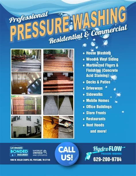 Image Result For Pressure Washing Flyers Templates Free