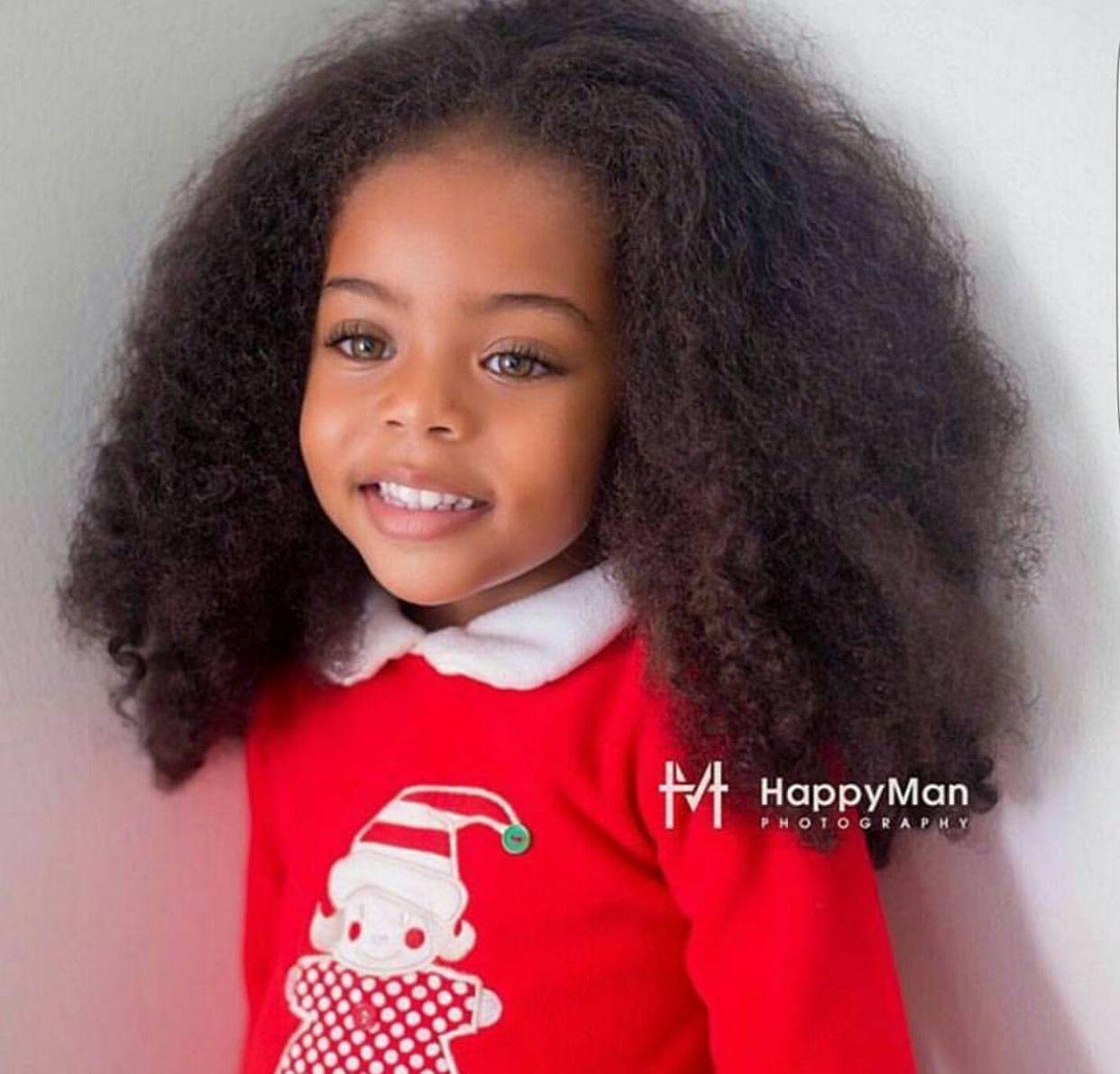 Cute Toddler Girl With Green Or Hazel Eyes Mixed Kids Hairstyles Kids Hairstyles Beautiful Black Babies