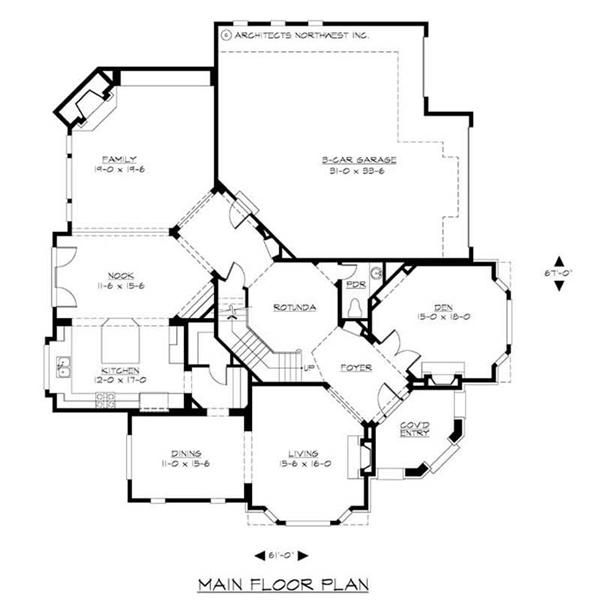 Craftsman Law Suite Home Bedrms Plan Victorian House Plans