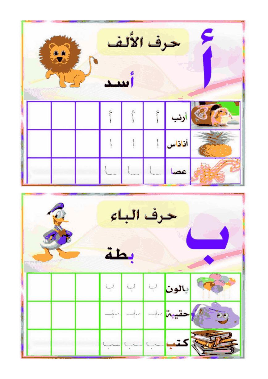 كتابة الحروف في اول وسط آخر الكلمة مادة اللغة العربية القسم التحضيري منتديات بوابة الونشريس ملت Alphabet For Kids Arabic Alphabet For Kids Arabic Alphabet