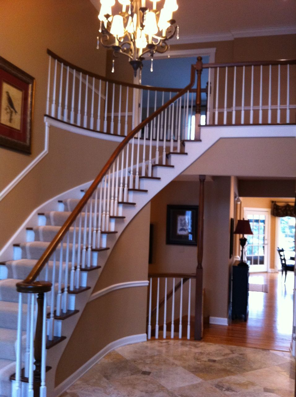Best We Refinished A Client's Staircase Taking It From A 400 x 300
