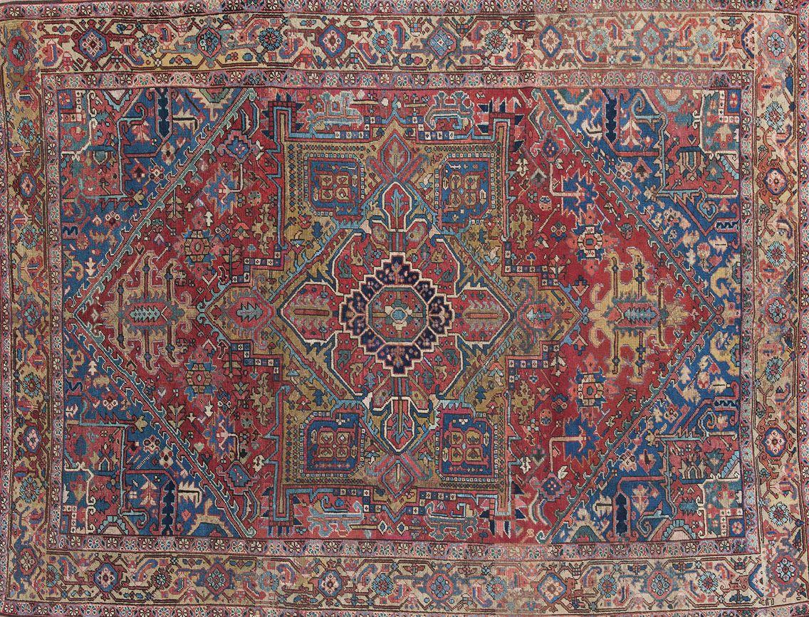 HERIZ – N. 310335 – cm. 363 x 290 – Tappeti Orientali e Moderni ...