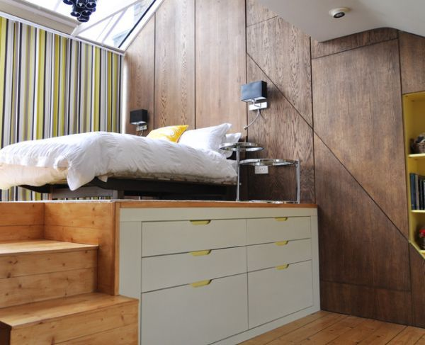 25 Cool Bed Ideas For Small Rooms | Small places, Tiny houses and ...