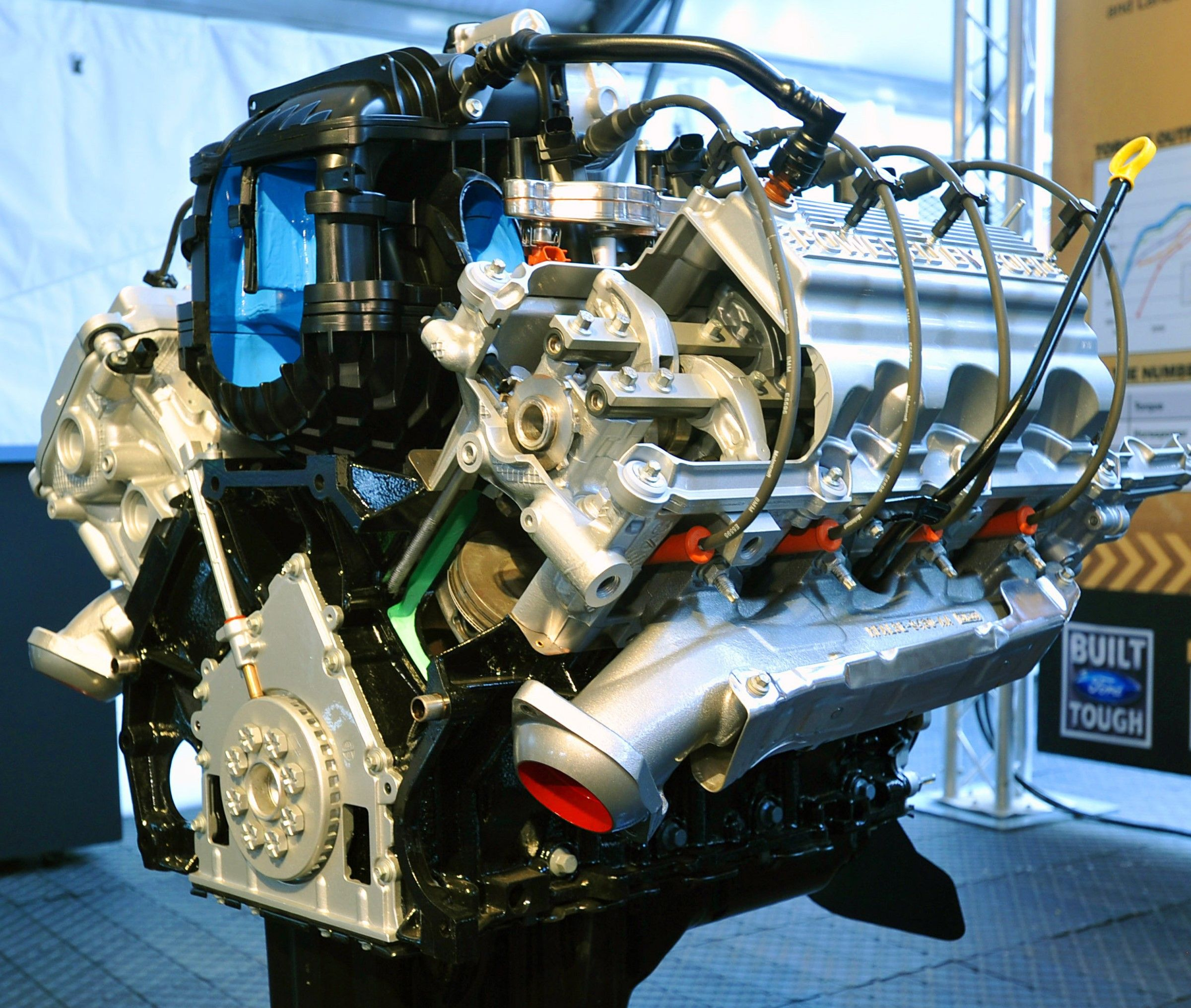Ford 6 2l Sohc V 8 Quot Boss Quot Engine Ford Pinterest