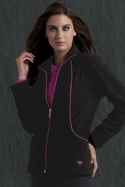 4c0263d28cc Item    8650 Stay warm and comfy in a cozy fleece zip up jacket with ...