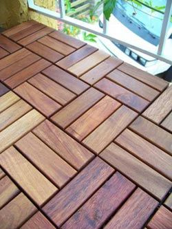 Deck Tiles From Eco Arbor Designs With