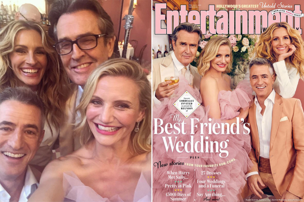 The Hollywood Reporter Julia Roberts Google Search Friend Wedding Best Friend Wedding Wedding