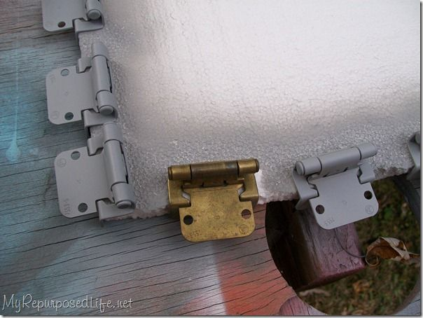 I painted the hinges | Decorating | Hinges for cabinets ...