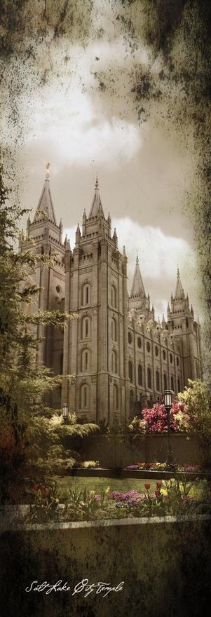 Templo de Salt Lake City | Contorno | Pinterest | Templo, templos ...