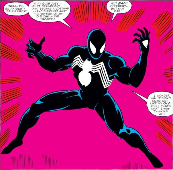 Secret Wars - 1st Spiderman's black suit #symbiote by Mike Zeck ...