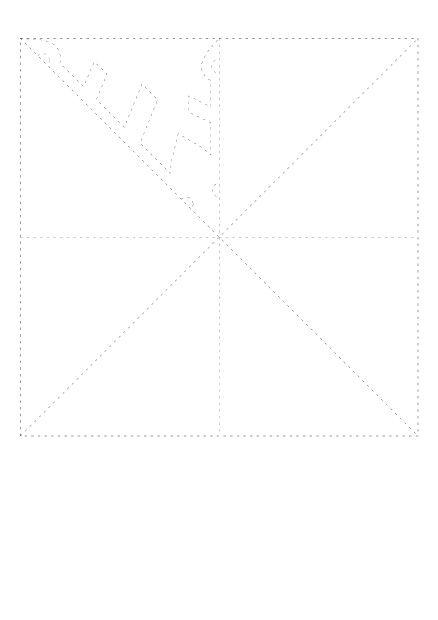 Modele De Flocon De Neige A Imprimer Decouper Plier Flocons De Neige En Papier Flocon De Neige Modele Flocon De Neige