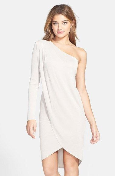 Bcbgmaxazria Jolee D One Shoulder Jersey Dress Available At Nordstrom