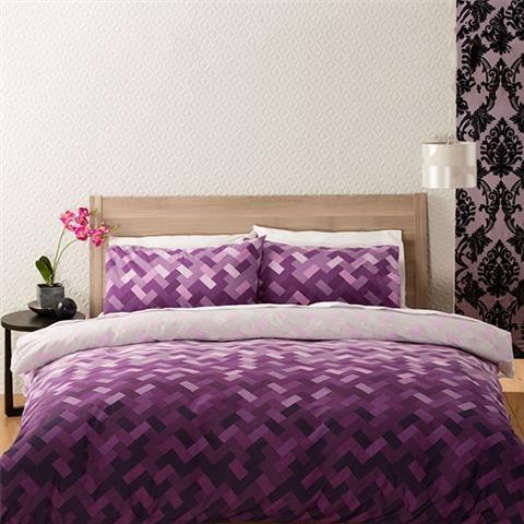 homemaker domino print quilt cover set double kmart