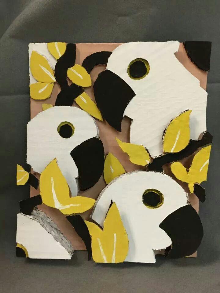 3d painting cardboard art projects preschool art art