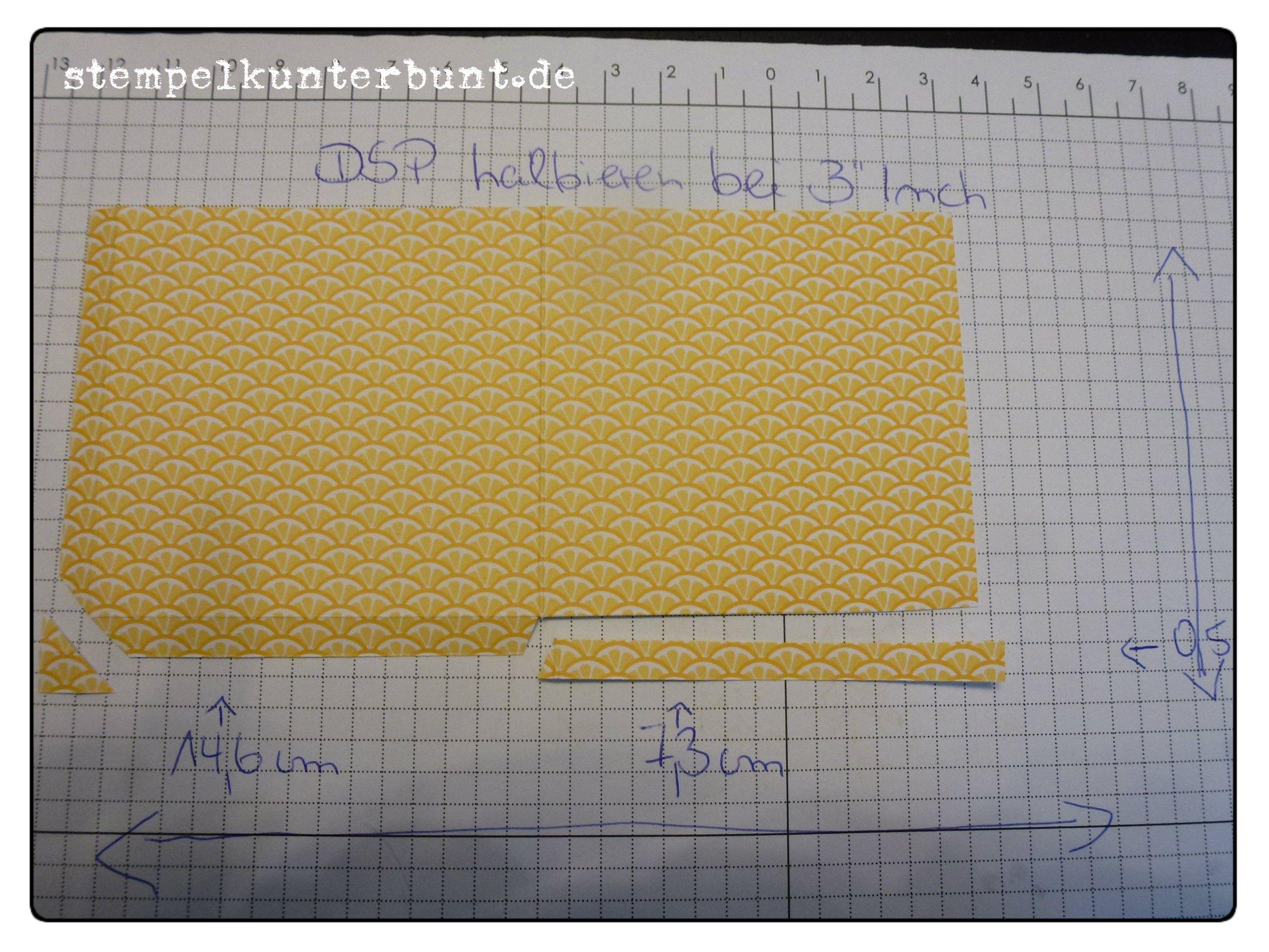 Teebeutelbuch Anleitung, Bild 5 , gebastelt mit Produkten von Stampin`Up!