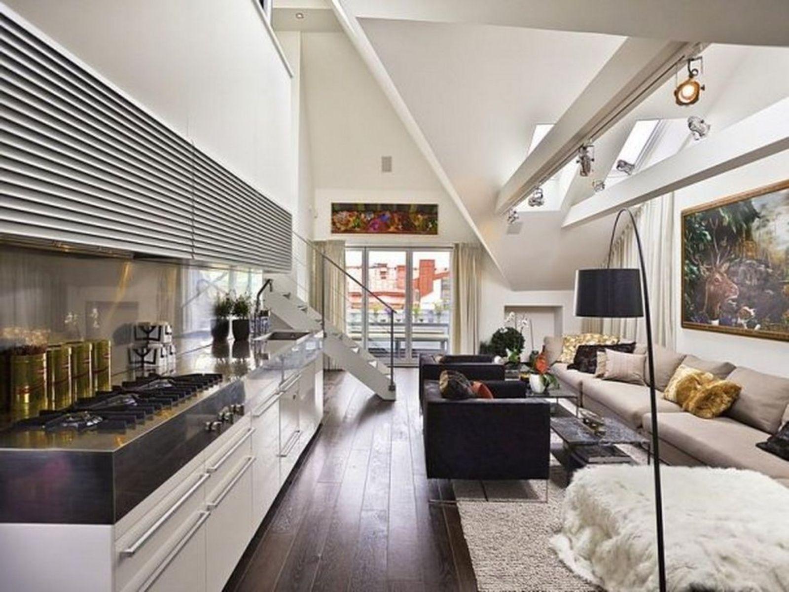 Black Sofa Furniture in Minimalist Living Rooms | Futuristic ...
