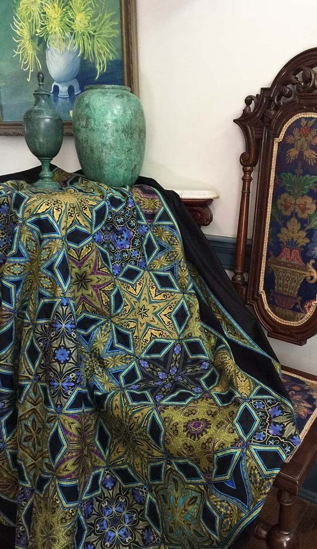 The Birth of a Fabric | Jinny Beyer's Blog | Bloglovin'