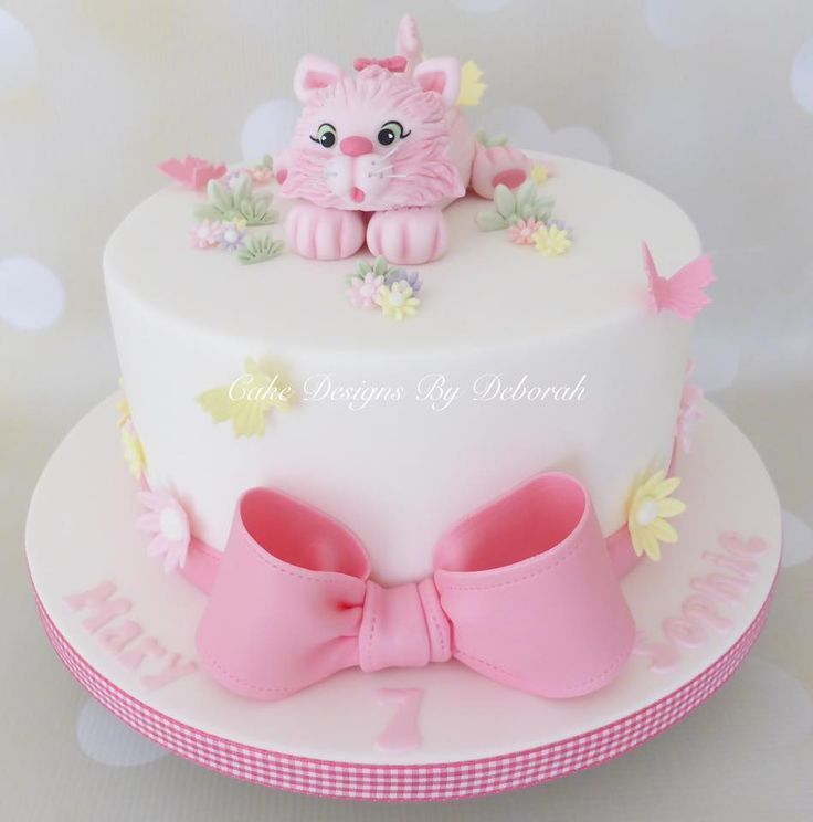 Image result for fondant cat birthday cake CatBirthday Cat