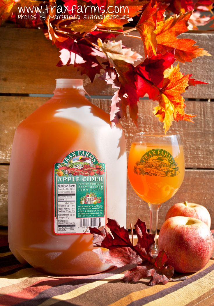 Freshpressed, homemade apple cider from Trax Farms
