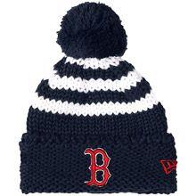 Boston Red Sox Children's Chunky Stripe Knit Cap by New Era