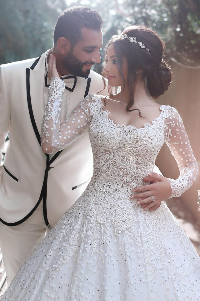 10 Lovely Wedding Hairstyles For Your Big Day Arabic Wedding