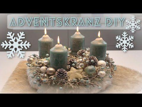 ADVENTSKRANZ DIY ️ SCHNELL & EINFACH SELBER MACHEN I WEIHNACHTSDEKO TREND 2019