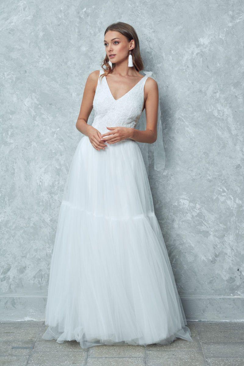 Kolekcja Slubna 2019 Anna Sarnowska Studio Dresses Wedding Dresses Sleeveless Wedding Dress