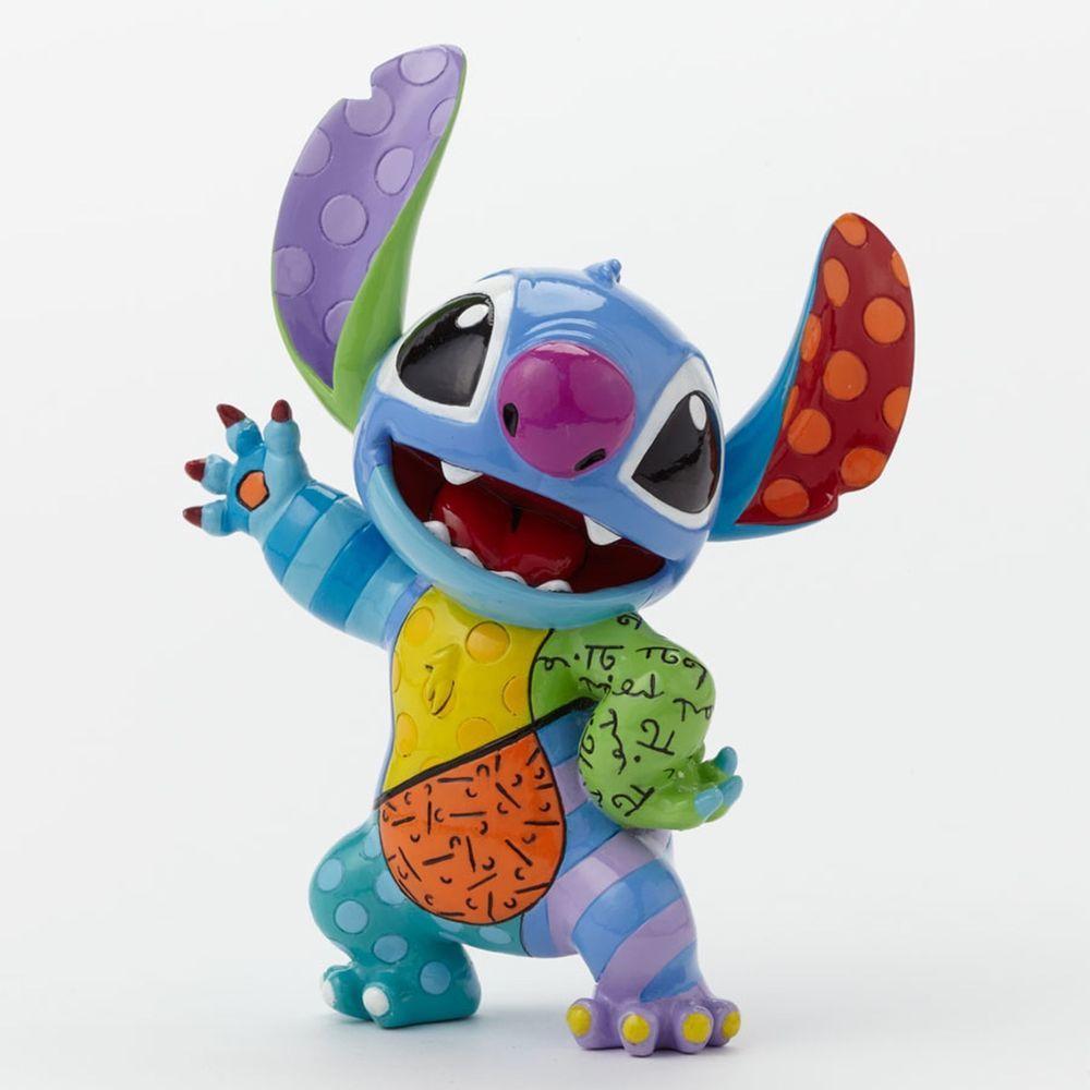 Romero Britto Disney Stitch Figurine New Gift Boxed