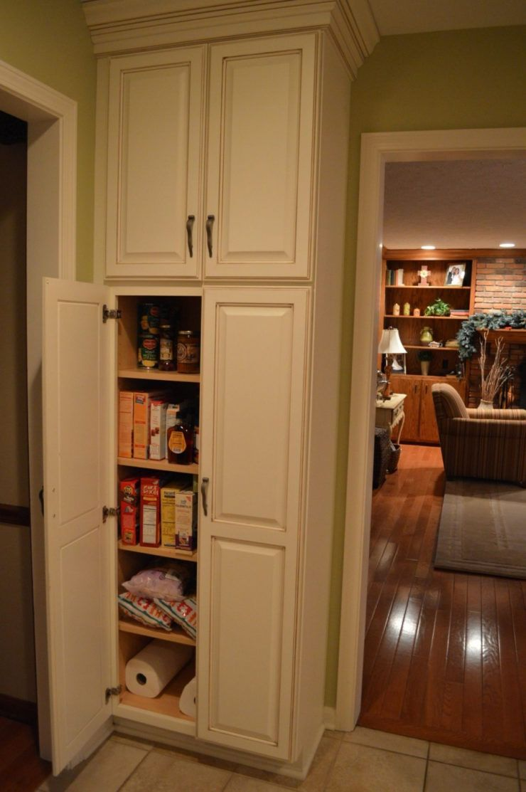 Image Of Kitchen Pantry Cabinet Ideas #pantrycabinet