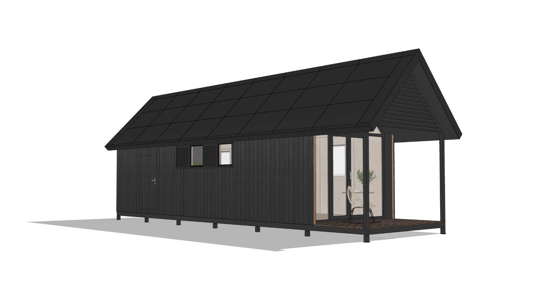 Tiny house millhome haus garten pinterest house for Tiny house movement nederland