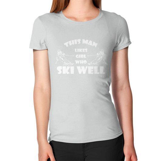 SKI WELL Women's T-Shirt